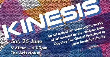 Kinesis | 25 Jun (Sat), 9.30 AM - 5 PM @ The Arts House