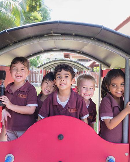 The Odyssey, play based preschool singapore